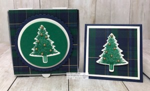 Perfectly Plaid Gift Box with Card