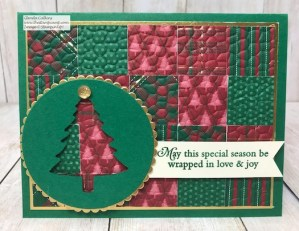 Perfectly Plaid Quilt Card with Glenda Calkins