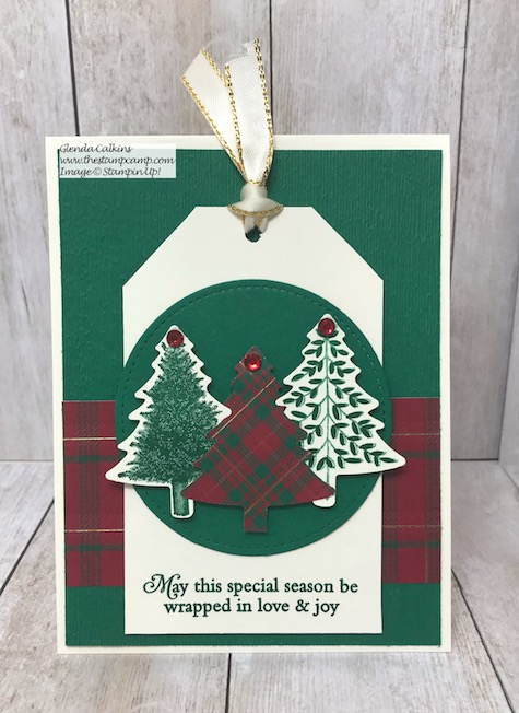 Tags can be placed on cards instead of packages too. They can also be turned into gift card holders; see my blog here: https://wp.me/p59VWq-ary #stampinup #tags #giftcardholder #thestampcamp