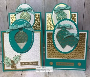 Christmas Gleaming Featured Stamp Set for November