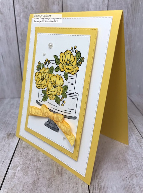This is the Happy Birthday to You stamp set which is free from Stampin' Up! during Sale-a-bration. Details on my blog here: https://wp.me/p59VWq-aGp #stampinup #birthday #thestampcamp