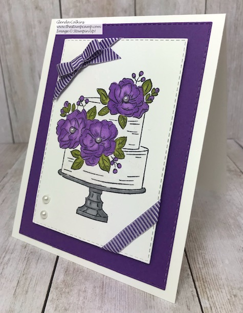 Day 4 in my Happy Birthday To You Free Stamp Set from Stampin' Up! Yes, this stamp set is free with a min. $50.00 order during Sale-a-bration. Check out the details here: https://wp.me/p59VWq-aGU . #stampinup #saleabration #thestampcamp #happybirthdaytoyou