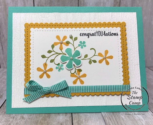 Free Sale-a-bration stamp set Thoughtful Blooms with the Small Bloom Punch available for free with a min. $150.00 order. Details on my blog here: https://wp.me/p59VWq-aIW #stampinup #thestampcamp #saleabration
