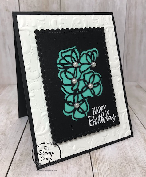 Peaceful Moments bundle has a very intricate die which turns out just beautiful. Details are on my blog here: https://wp.me/p59VWq-aNr #thestampcamp #stampinup #peacefulmoments #dies