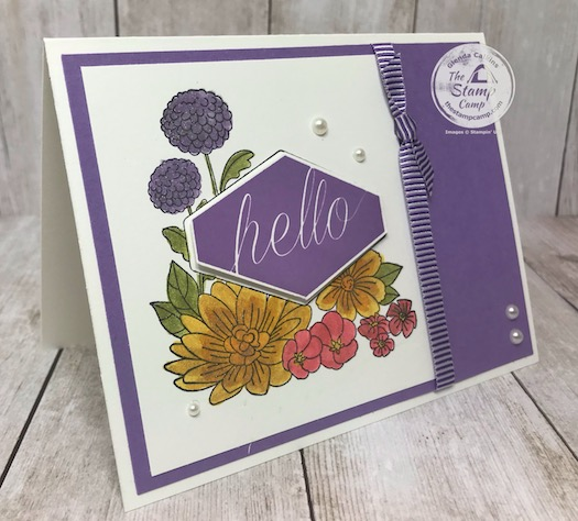 The Accent Blooms stamp set is on the 2020 Retired list for Stampin' Up! It will be gone for good by June 2, 2020. Details are on my blog here: https://wp.me/p59VWq-aXf . #stampinup #accentblooms #thestampcamp #technique