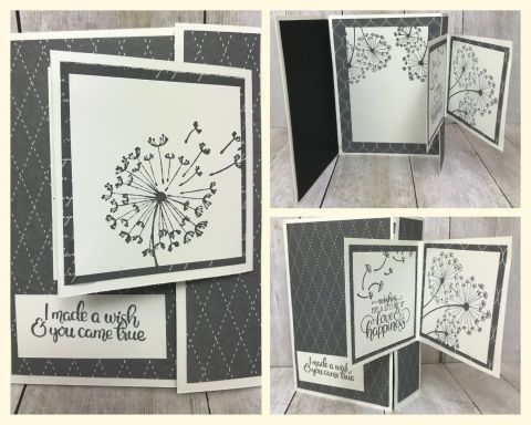 Dandelion Wishes Simple Stamping cards created by team mate Brenda Ubben. Details can be found on my blog here: https://wp.me/p59VWq-aZ8. #simplestamping #stampinup #thestampcamp
