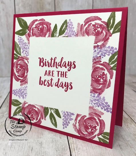 Have you ever tried the Simple Stamping with Masking technique? This beautiful card features the Beautiful Friendship stamp set. Details can be found on my blog here: https://wp.me/p59VWq-aZJ #stampinup #simplestamping #thestampcamp #beautifulfriendships