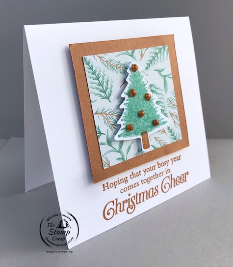 I combined the Perfectly Plaid Bundle with the Flowers for all Seasons Designer Paper to create this card. You may remember the Perfectly Plaid bundle from last years Mini catalog; well it is now in the Stampin' Up! annual catalog. Details are on my blog here: https://wp.me/p59VWq-bmz #stampinup #thestampcamp #christmas #perfectlyplaid
