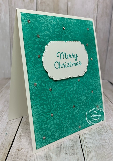 Tuesday's Tips and Techniques for this week is using the Winter Snow Embossing Folder in a different and unique way. See my blog for details here: https://wp.me/p59VWq-boU. #stampinup #thestampcamp #technique #embossingfolder