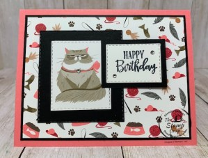 Sophia's Birthday Card - Pampered Pets