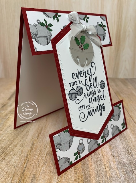 Today's Fun Fold Friday card features the Christmas Means More stamp set. Oh the memories I have with the sentiments in this stamp set. All my kids favorite movies are featured in this sentiment. I'm not sure what you call this fun fold but it is fun! Details are on my blog here: https://wp.me/p59VWq-bAg #stampinup #thestampcamp #glendasblog #christmas #funfold