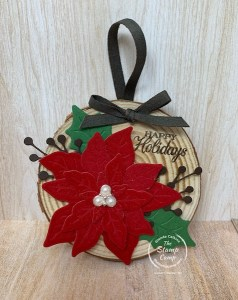 Make It Monday - Large Wooden Ornaments