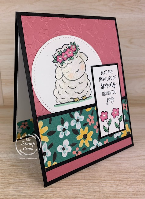 Springtime Joy makes me super excited for Spring to come; I'm already done with winter time and ready for some Spring time weather. This Springtime Joy Stamp Set from Stampin' Up! is just perfect for your upcoming Easter festivities. #thestampcamp #stampinup #springtimejoy #easter