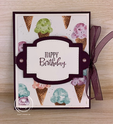 Are you ready for some Summer Fun cards? That is exactly what you can create with the Ice Cream Corner Suite of products from Stampin' Up! Get yours today! #thestampcamp #stampinup #icecream