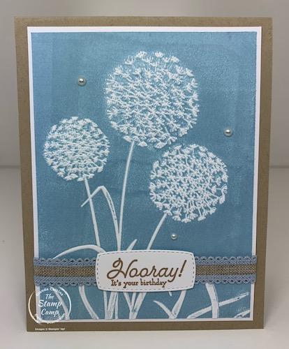 Dandelion Embossing Folders