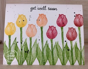 Stampin' Up! Timeless Tulips Simple Stamping