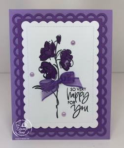 Stampin' Up! Color & Contour in Gorgeous Grape & Highland Heather