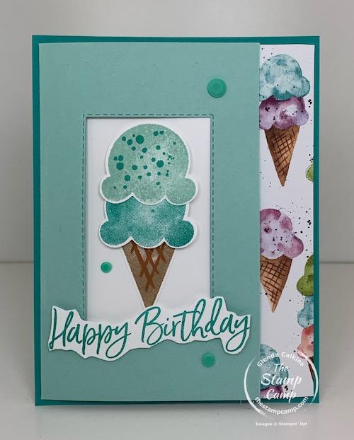 Fun Fold Birthday Card is a 3 panel card
