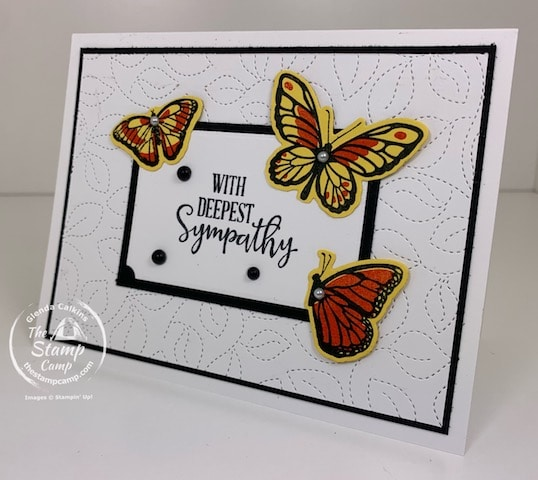 Floating and Fluttering Stampin' Up!