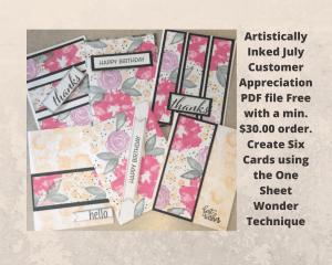 Artistically Inked Stamp Set 2021