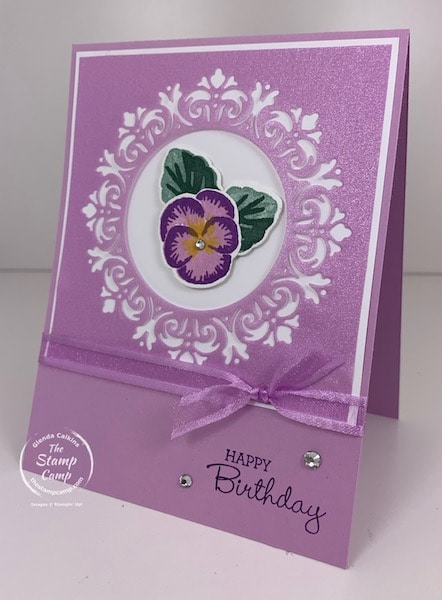 Pansy Patch Bundle with Encircled in Beauty