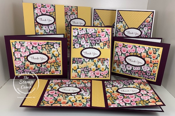 Pansy Patch Bundle and Pansy Petals Designer Series Papers