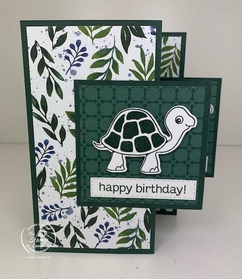 fold fold card turtle friends bundle