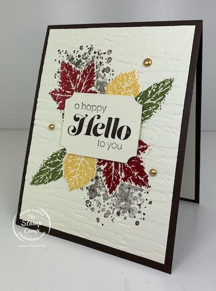 Gorgeous Leaves Stamp Set