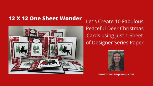Peaceful Deer Bundle Stampin' up!