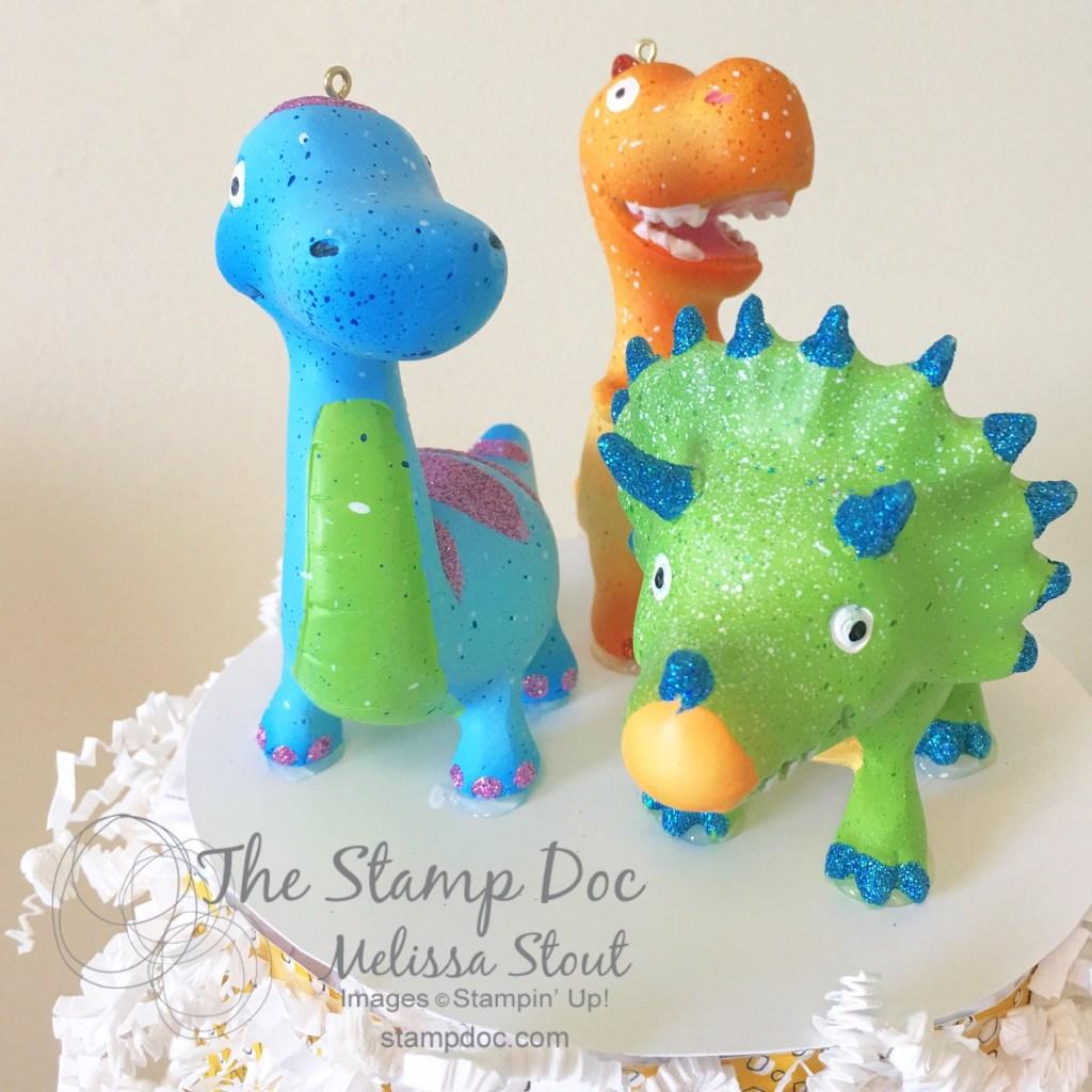Dinosaur Diaper Cake Topper