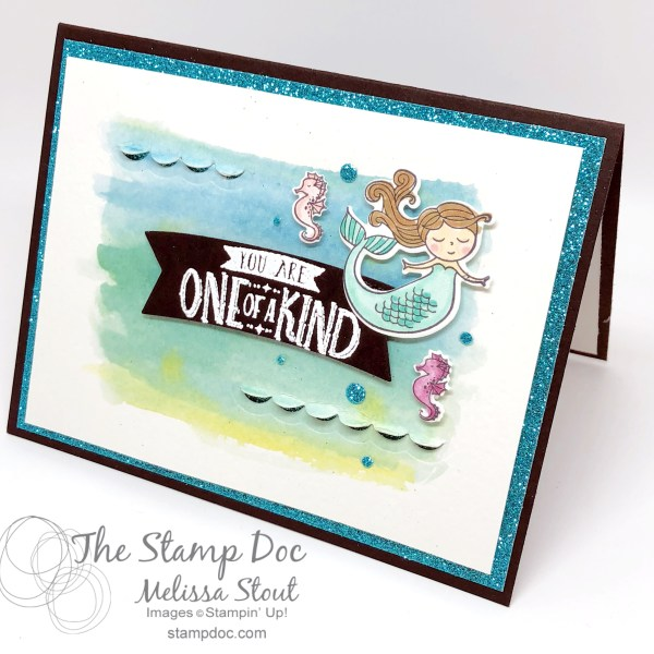 Magical Day Mermaid Birthday Card Featuring Myths Magic Suite