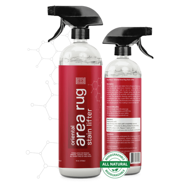 2 Stain Lifter area rug bottles