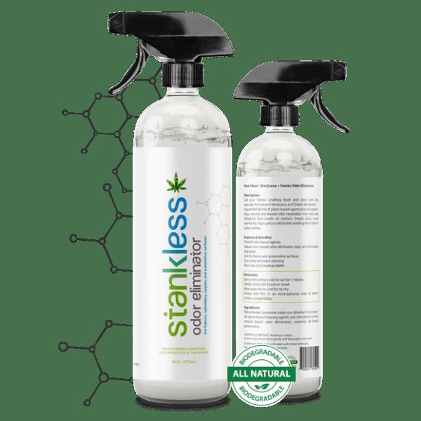 2 Stain Lifter Stankless bottles