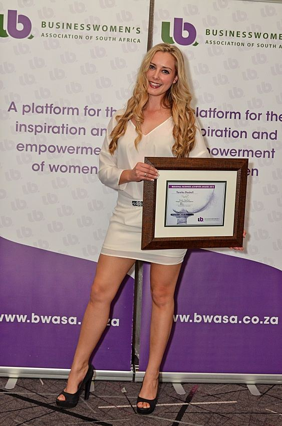 Business Women's Association of South Africa's Regional Business Achiever's Awards Tamika Doubell
