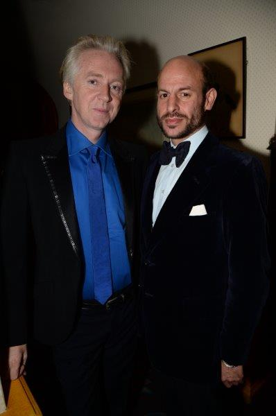 Philip Treacy & Stefan Bartlett