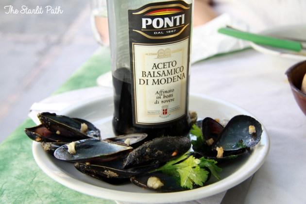 Capri Italy Mussels Wine