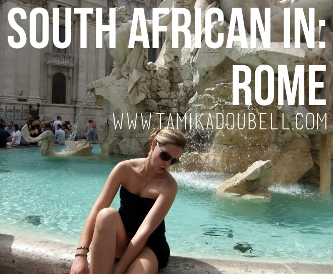 South African In: Rome