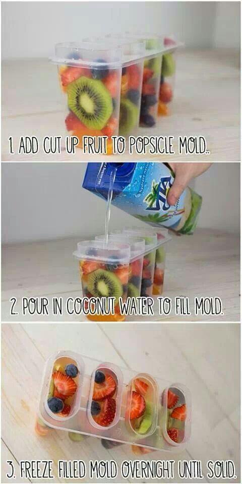 fruit lollipop snacks