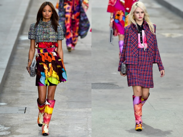 Tweed Fashion Trend SS15, Chanel, Paris Fashion Week