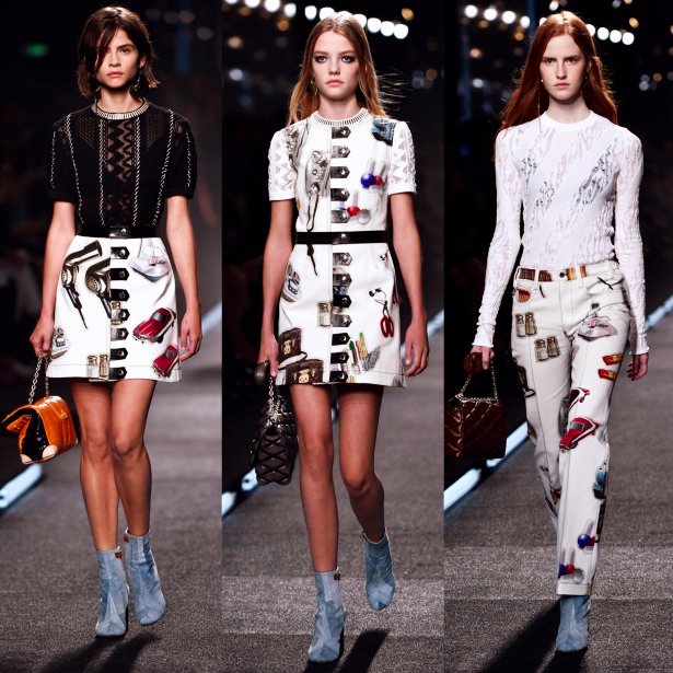 1970's Fashion Trend SS15, Louis Vuitton, Paris Fashion Week