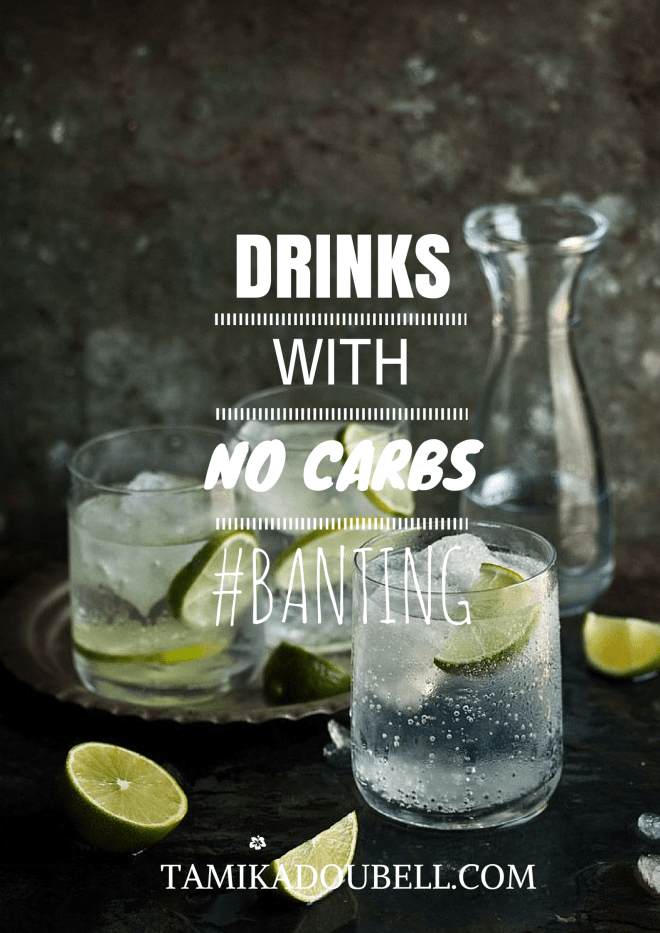Carb-Free Drinks Banting Diet