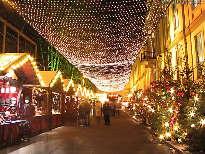 Berlin's largest Christmas market takes place in the Spandau Old Town