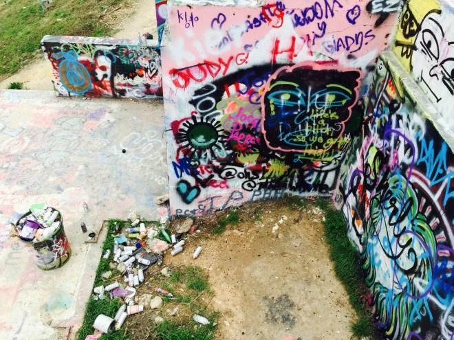 Graffiti Wall Texas