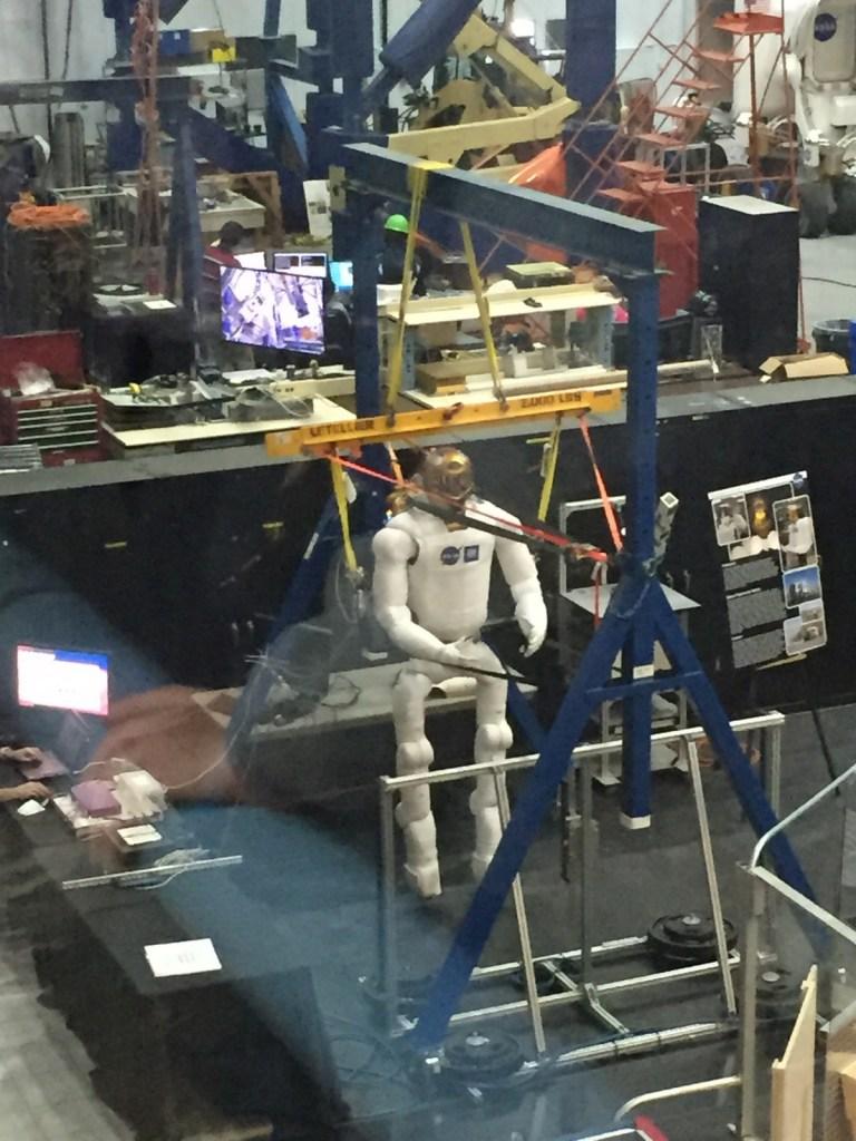NASA's Johnson Space Centre Vehicle Mock-Up Facility