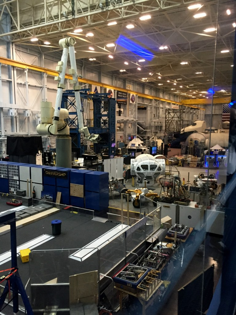 NASA's Johnson Space Centre Vehicle Mock-Up Facility