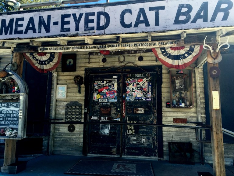 Mean-Eyed Cat Bar Austin