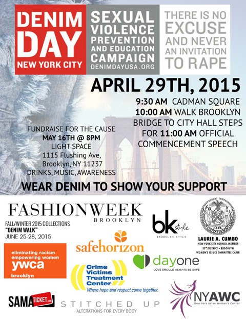 Denim Day Walk Brooklyn NYC
