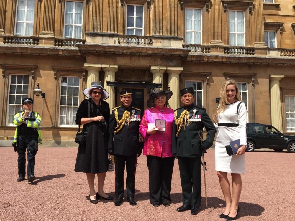 Royal Investiture Buckingham Palace