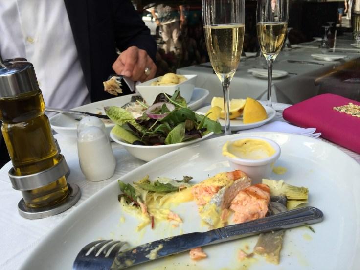 Scottish Salmon at Salieri £14.85