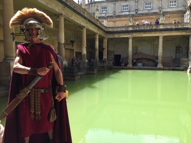 The Roman Baths Can Be Hired Out For Parties + Weddings